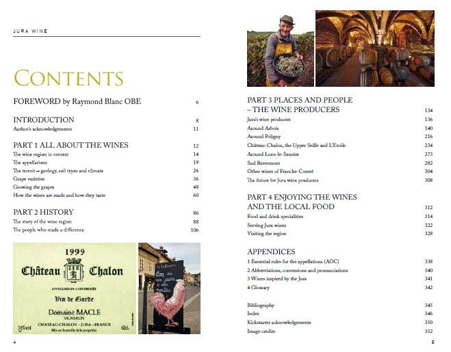 Jura Book Contents