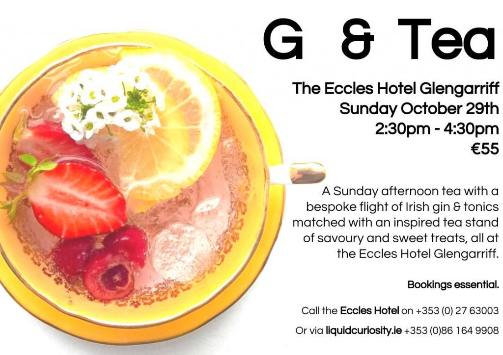 G & Tea at the Eccles Hotel